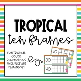 Tropical Tens Frames for Counting School Days