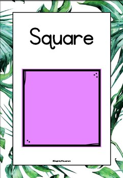 Tropical 2D and 3D Shapes