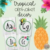 Tropical Theme Alphabet