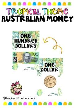 Tropical Australian Money Poster