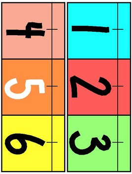 Tropical Theme Classroom Number Line