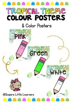 Tropical Colour/Color Posters