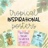 Tropical Theme Inspirational Posters