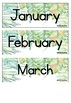 Tropical Months of the Year