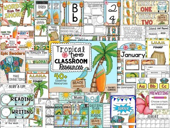 Tropical Theme Decor Pack
