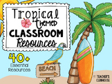 Tropical Theme Decor Pack