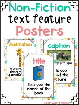 Tropical Theme Text Feature Posters