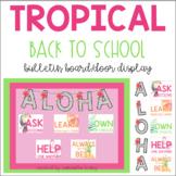 Tropical Themed Bulletin Board/Door Display