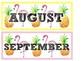 Calendar Set- Tropical Themed