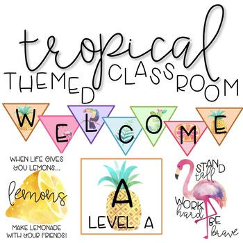 Tropical Themed Classroom