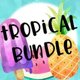 Tropical Themed Classroom Bundle