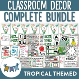 Tropical Themed Classroom Decor Bundle