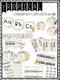 Tropical Themed Classroom Decor GROWING Bundle {EDITABLE}