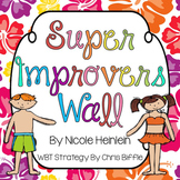 Tropical Themed Super Improvers Wall {WBT FREEBIE}