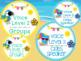 Tropical Voice Level Classroom Management Cards