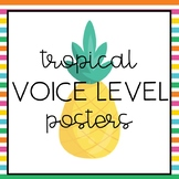 Tropical Voice Level Posters