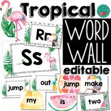 Tropical Word Wall