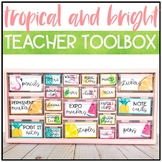 Tropical and Bright Classroom Decor: TEACHER TOOLBOX