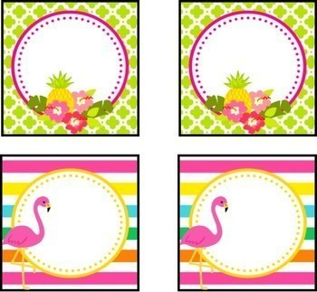 Tropical Pineapple Flamingo Theme Labels Signs And Posters Editable 3218799 on Lesson Plans Free Printables