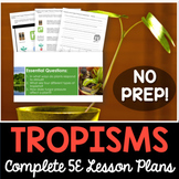Tropisms and Turgor Pressure Complete 5E Lesson