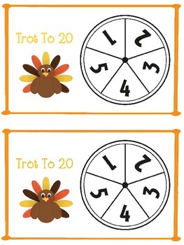 Trot To 20   - A Place Value Game