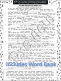 Trouble Between the States Cloze/Filln Blank#17~Social Studies Weekly~NOPRP