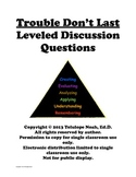 Trouble Don't Last Leveled Reading Comprehension Discussio