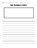 Trouble Stories Writing Template