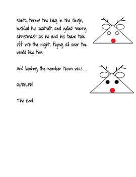 """""""Trouble at the North Pole"""" A Christmas Draw and Tell"""