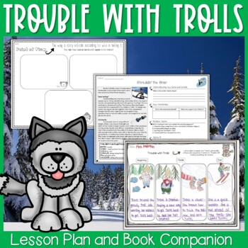 Trouble with Trolls by Jan Brett Interactive Read Aloud Lesson and Extensions
