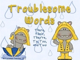 Troublesome Words - Their, There, They're, To, Too, Two