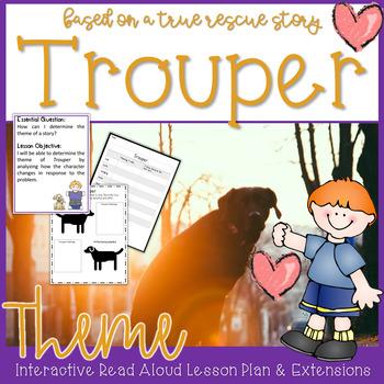 Trouper by Meg Kearney Interactive Read Aloud Theme Lesson Plan