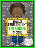 Trousse d'enseignement : Les angles FRENCH MATH ACTIVITY KIT