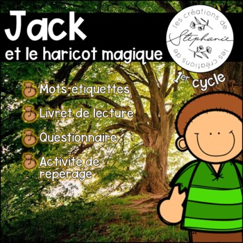 Trousse de lecture pour lecteurs débutants : Jack et le haricot magique