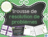 Trousse de résolution de problèmes/ French word maths problems kit