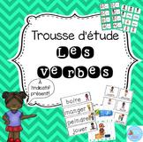 Trousse d'étude Les verbes/ French verbs kit