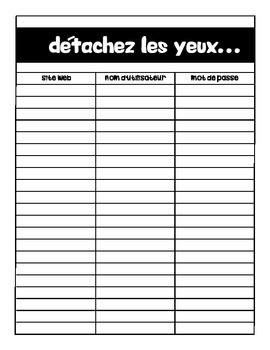 French Super Teacher Binder
