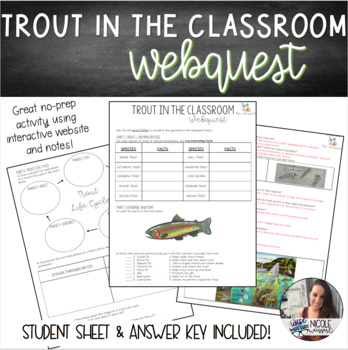 Trout Webquest