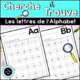 Cherche et Trouve Les Lettres de L'Alphabet | French Search and Find Alphabet