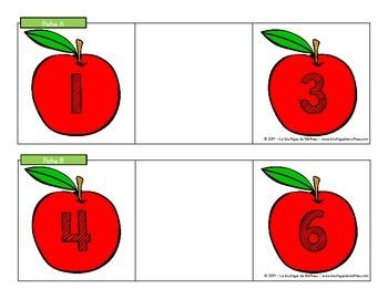 Trouve la pomme!