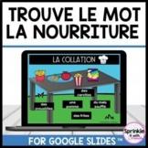 Trouve le mot-La nourriture-Google Slides™️-Distance Learning