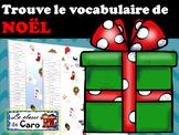 Trouve le vocabulaire de Noël -IMRPIMABLE ET PROJETABLE