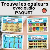 Trouve les couleurs avec audio Cartes Boom