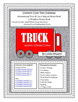 Truck (Common Core Text Exemplar)