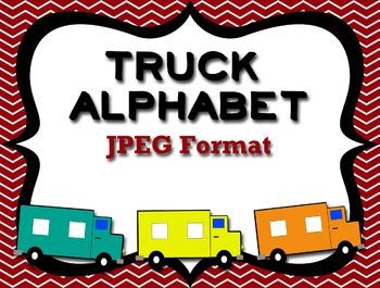 Truck/Construction Theme Alphabet Initial Sound Trucks