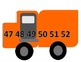 Number Chart- trucks