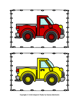 Truck Quality Control Task and Truck Body Worksheets