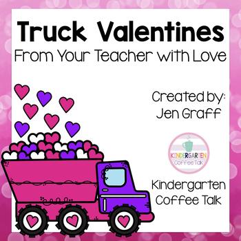 Truck Valentine's Day Cards