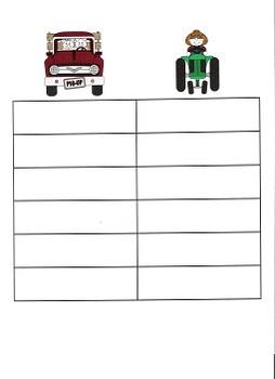 Trucks and Tractors Tic Tac Toe