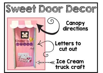 Truck of Love - Craft, Writing, and Door Decor